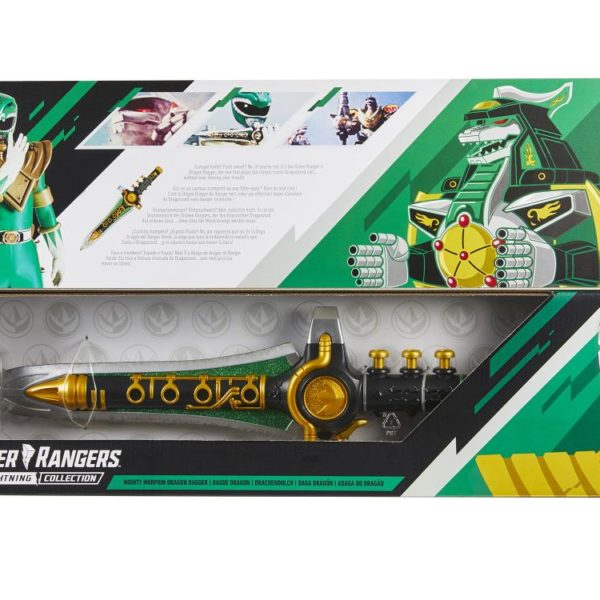 POWER RANGERS LA FOUDRE COLLECTION Zeo Gold Ranger En Stock